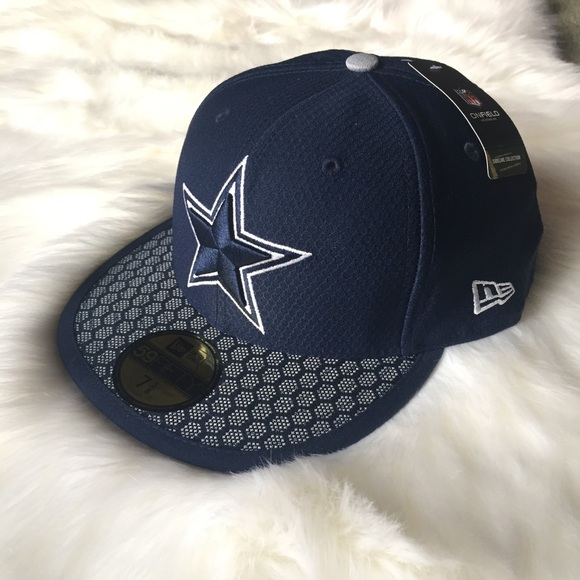 Dallas Cowboys New Era Sideline 59Fifty Fitted Hat 4415e70572d9